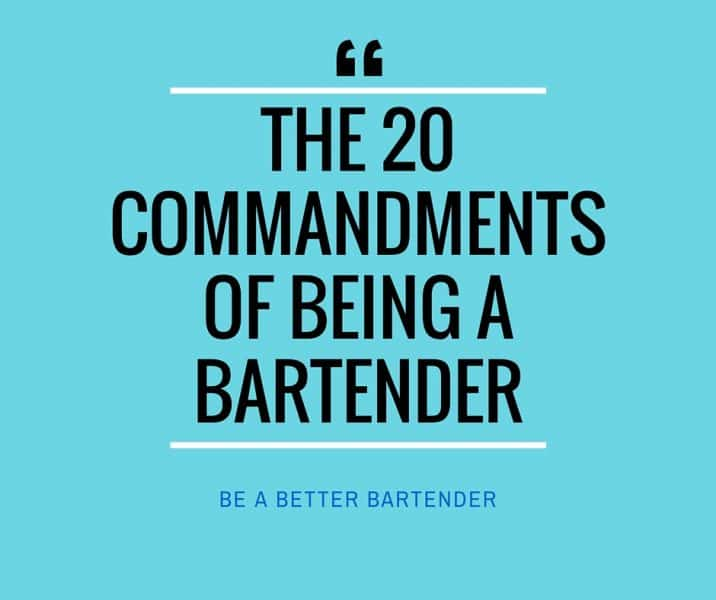 be a better bartender
