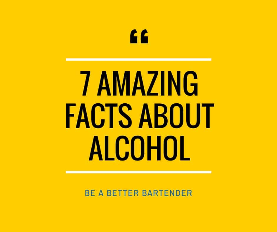 7 Amazing Facts About Alcohol That You Don't Know