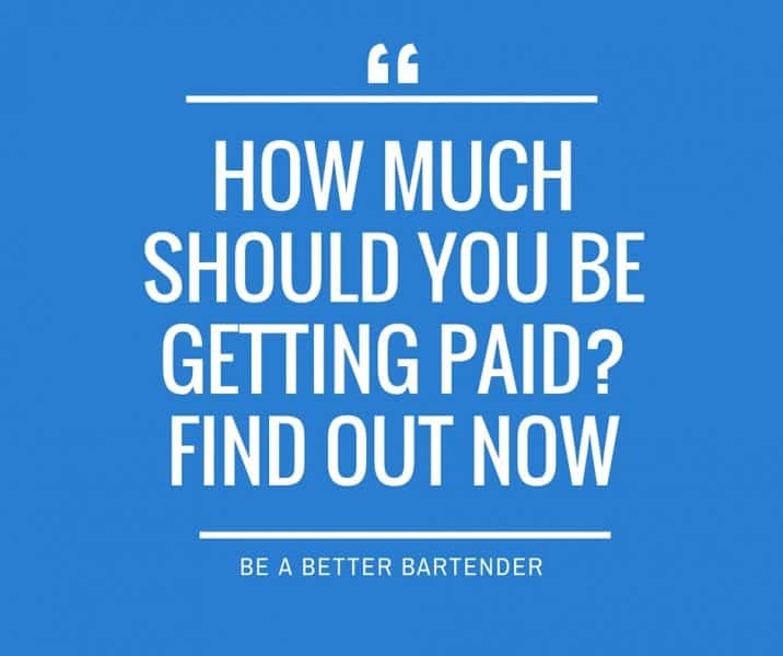 Bartender Salary : Are You Getting Paid Enough? Find Out Now