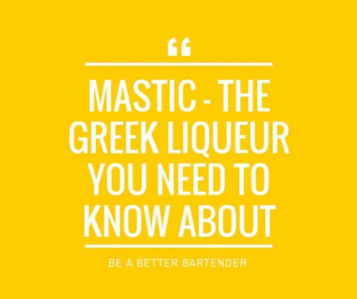 Mastic – The Greek Liqueur You Need To Know About