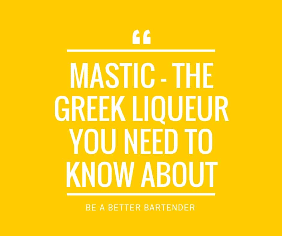 mastic greek liqueur
